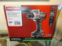 Craftsman C3 1/2 Inch Heavy Duty Brushless Drill/driver 19.2v Kit 38595 Cordless
