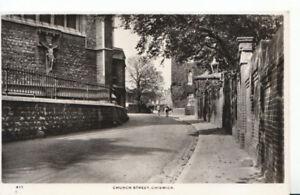 London-Postcard-Church-Street-Chiswick-Real-Photograph-Ref-1074A