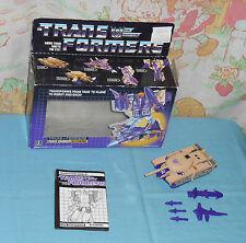 original G1 Transformers BLITZWING 100% COMPLETE in box
