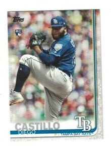 10-Diego-Castillo-2019-Topps-Series-2-Rookie-Card-Lot-650-RAYS-10CT-LOT-QTY
