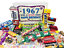 thumbnail 1 - Woodstock Candy ~ 1967 53rd Birthday Gift Box of Nostalgic Retro Candy Mix from