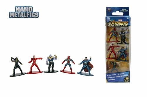 Marvel Avengers Infinity War nano figures 100/% die cast metal,jada toys.