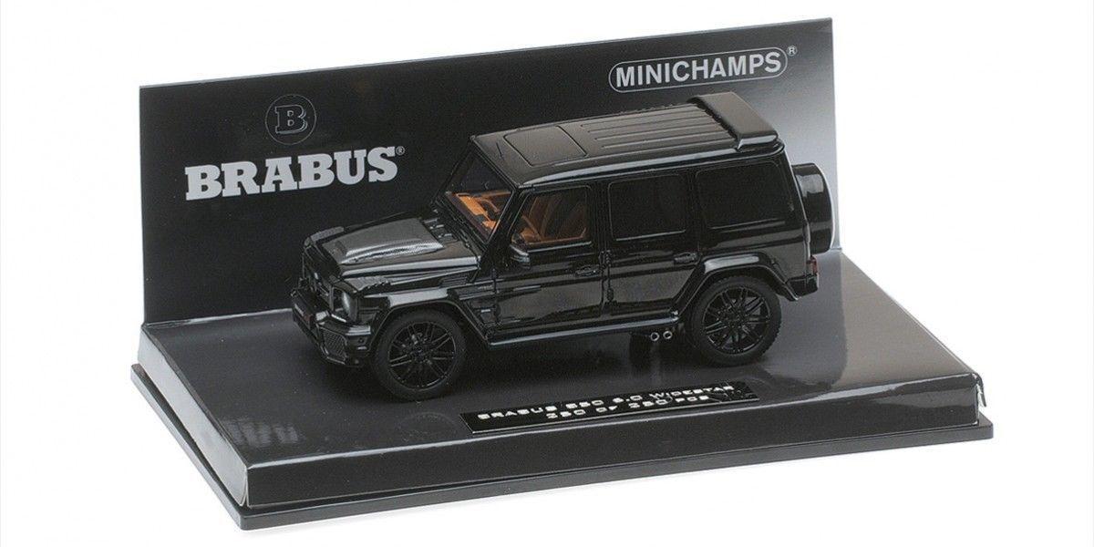 Minichamps - BRABUS 850 6.0  BITURBO largeSTAR AUF BASIS AMG G63 2016 Noir 1 43  avec le prix bon marché pour obtenir la meilleure marque