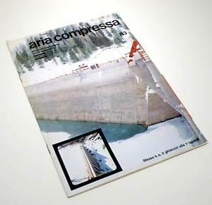 Acqua E Aria Rivista.Aria Compressa Rivista Ed Ing Civile E Miniere Atlas Copco N 83 1970 L0088r2 Ebay