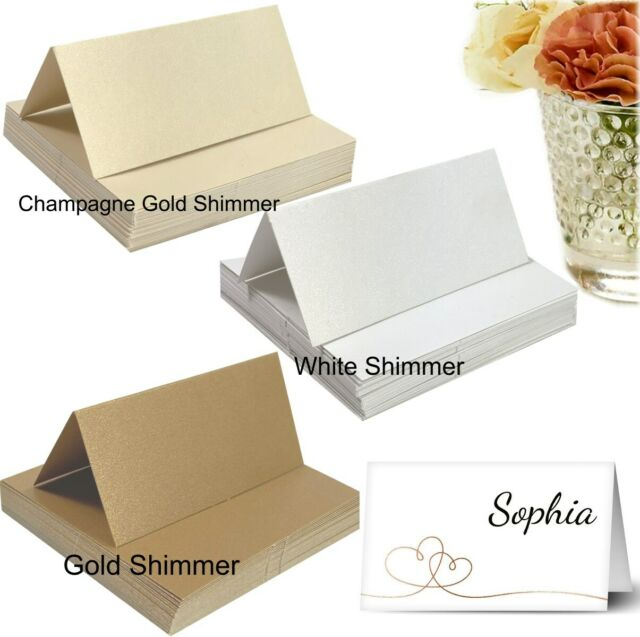 Paper Place Cards Cardstock Name Card Gift Tags Wedding Favour Party Placecards
