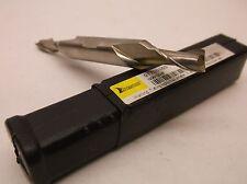 Hertel Double end mill bit HSS 4FL DEM 1//4 x 3//8 x 3//8 x 2-7//8 new in package!!!