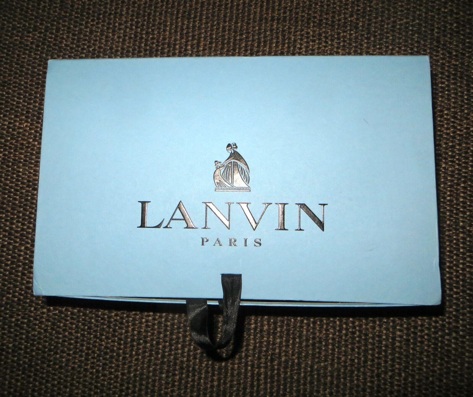 Exquisite LANVIN LANVIN LANVIN Espadrillas fiocchetto Denim Taglia UK7 o Taglia 40 Net A PORTER 6986ba