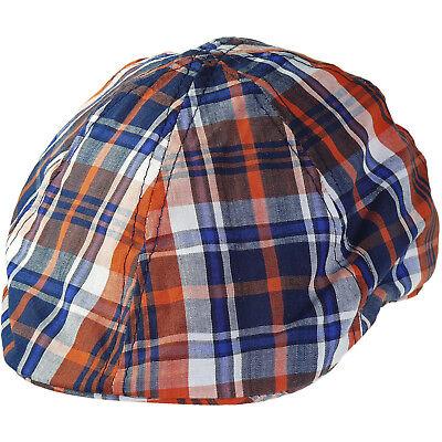 Kinder Flatcap gestreift in 2 Farben Caps Cap Kappe