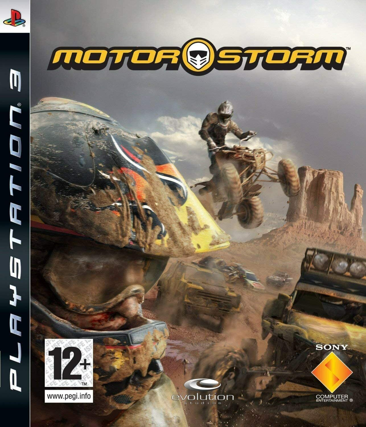 MotorStorm Racing Game PS3 Fast Post Excellent Condition UK