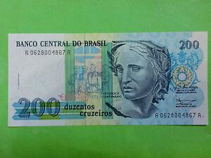 Brasil-200-Cruzeiros-1990-GEM-UNC-AA