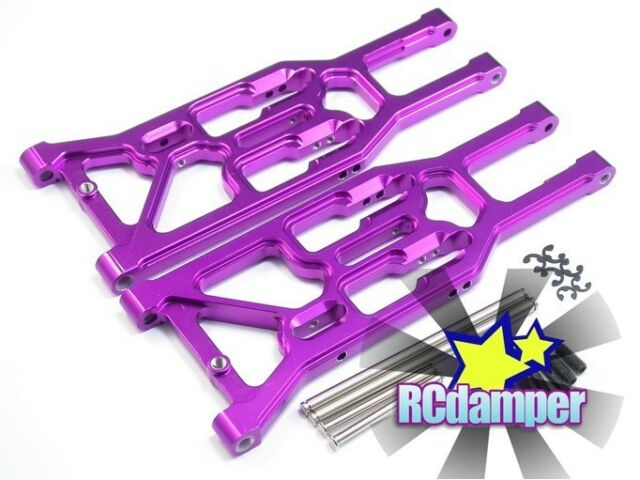 ALUMINUM FRONT LOWER ARM P HPI 1/8 TROPHY TRUGGY 4.6 FLUX ALLOY SUSPENSION BUGGY