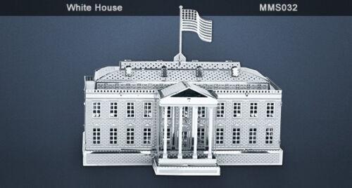 Tweezer 010329 Metal Earth White House 3D Metal Model