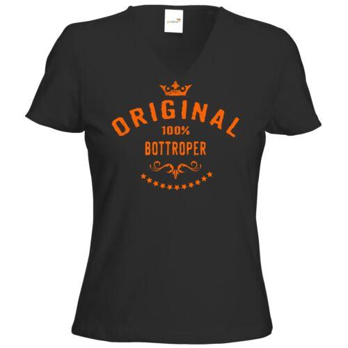 Getshirts-rahmenlos ® cadeaux-t-shirt femme v-neck-staedte bottroper...