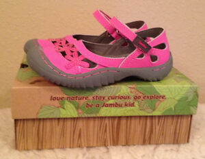 NIB Jambu Blossom 2 PINK Mary Jane Shoes Girls 12 M