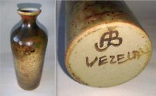 ANCIEN VASE EN GRÈS de ALBERT BRETON à VESLAY signé