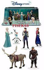 "Disney Store Frozen 6 pc  Figure Mini Doll Play Set PVC Cake Top 4.5"" NEW"