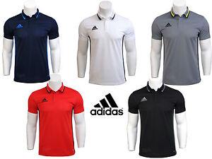 ADIDAS-Mens-condivo16-Manica-corta-Polo-Top-T-Shirt-Sportivo-Tee-S-2xl-Nuovo
