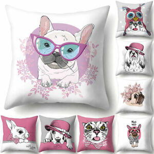 Am-Dog-Puppy-Rabbit-Throw-Pillow-Case-Cushion-Cover-Sofa-Bed-Car-Office-Decor
