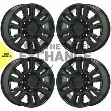 20 Sierra Silverado 2500 3500 Truck Black Wheels Rims Factory Oem Gm Set 4 5957