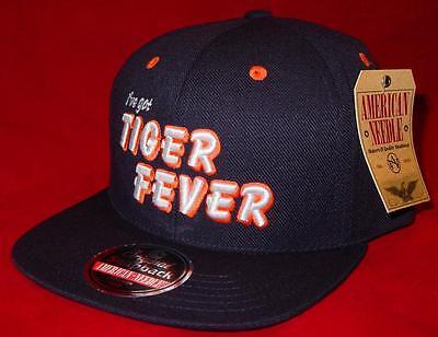 Htf Neu Lizenziert Detroit Tigers I've Got Fever Retro Snapback Kappe ___ B109 Herausragende Eigenschaften Baseball & Softball