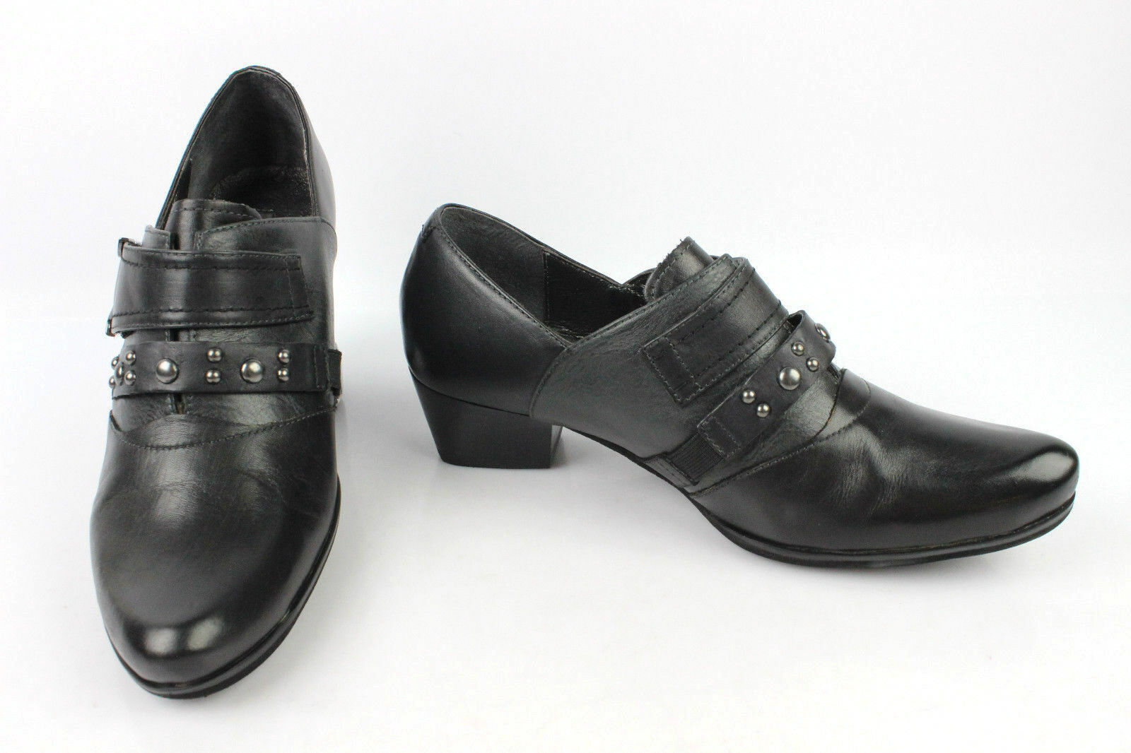 3cfd13ce5037e Court Tredters FUGITIVE Black Leather T 37 MINT shoes nrxdal1575 ...