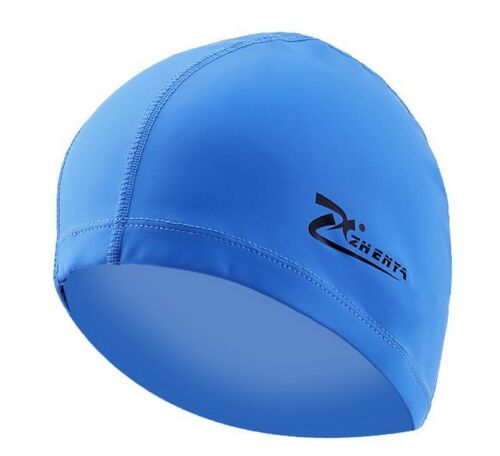 Waterproof Men Women Adults Silicone Swimming Cap Hat PU Coating Swimming Hat