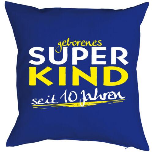 cojines de cumpleaños de niños 10 proverbios año decorativas Tinker niños almohada 10