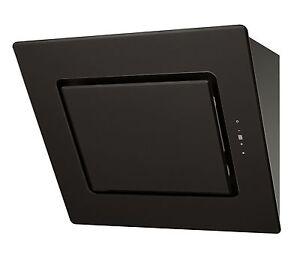 MILLAR-KH700V-AG-70cm-Black-Angled-Slanted-Kitchen-Extractor-Hood-Touch-Control