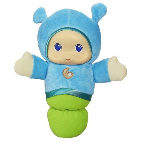 Playskool Play Favorites Lullaby Gloworm Toy Blue Brand New and Factory Sealed