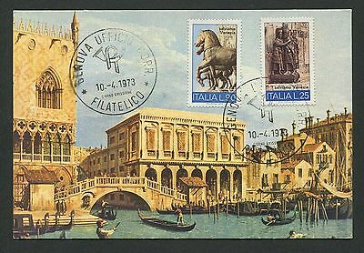 Hilfreich Italien Mk 1973 Venezia Venedig Venice Maximumkarte Maximum Card Mc Cm D1667