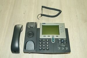 Cisco CP-7961G 7961 Unified IP VoIP Business Phone Handset PoE ***LARGE STOCK***