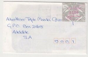 Stamp-Australia-1-30-Emu-Frama-with-cliche-A66-on-1994-cover-grossly-overpaid