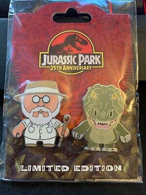 Universal Studios Jurassic Park 25th Anniversary John Hammond /& Dino Pin Limited