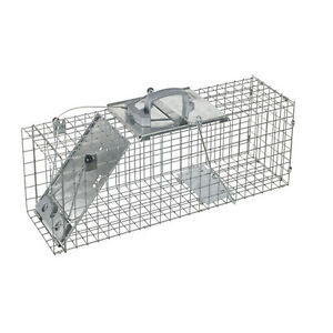Havahart-High-Quality-Galvanized-Pest-Control-Easy-Set-Fox-Rabbit-Cage-Trap-1092