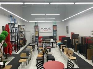 Chairs , Tables , Table Bases , Booths For Restaurant / Bar / Bistro / Lounge / Pub    Tel:(438)990-2355 Winnipeg Manitoba Preview
