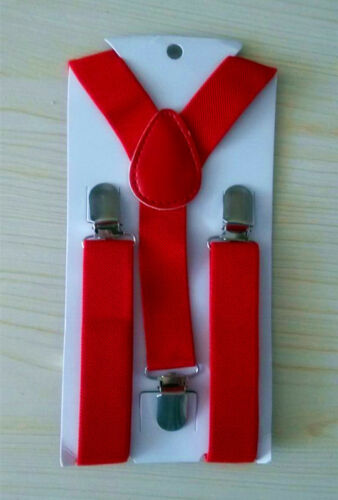 Ship from USA NEW Y Back  Elastic Suspender for Boys Girls Kids