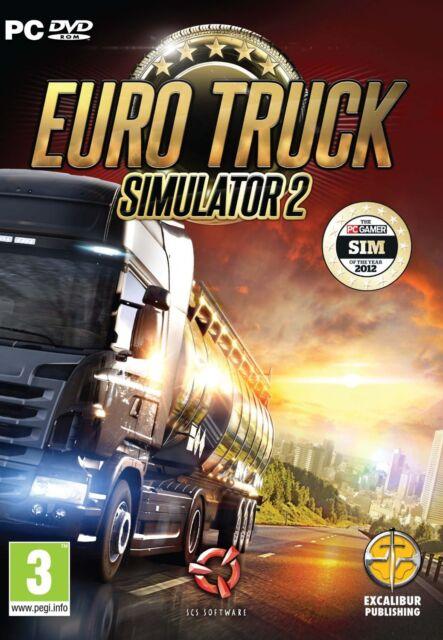 Euro Truck Simulator 2 (PC CD) BRAND NEW SEALED ENGLISH VERSION