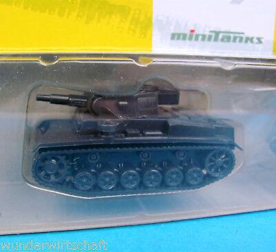 Minitanks H0 174 PANZER III EDW Wehrmacht WWII HO 1:87 tank 3 OVP Roco Herpa