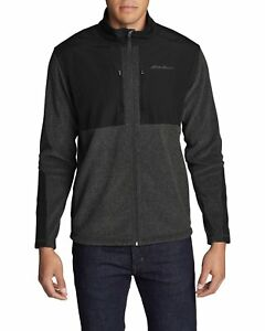NWT! Eddie Bauer MEN'S Forest Ridge Fleece Full-Zip Jacket - Size L