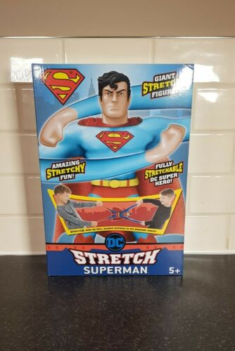 Stretch Armstrong Superman DC Giant Stretchy Superman Figure New Unopened