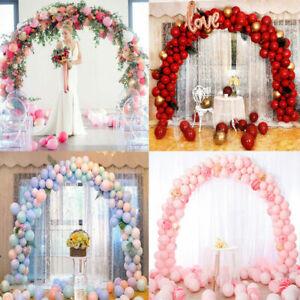 Balloon-Arch-Set-Column-Stand-Base-Frame-Kit-Birthday-Wedding-Party-Decor-US-LY