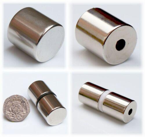 magnetico STRONG x-Large Round Neo Magneti Varietà di cilindri Mega Forte
