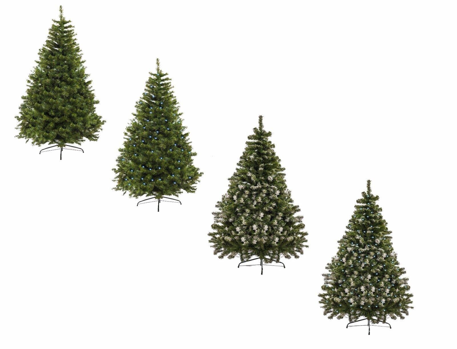 Tannenbaum künstlicher Weihnachtsbaum 120 - 210cm LED LED LED Christbaum Kunstbaum PVC | Stabile Qualität  1e6b0d