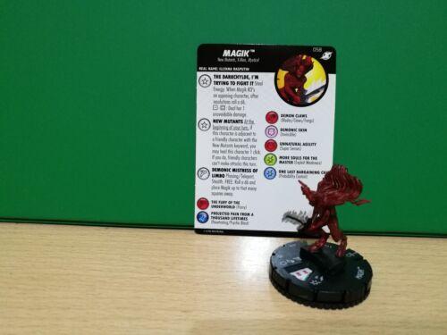 Heroclix X-Men Xavier completo School 058 Magik