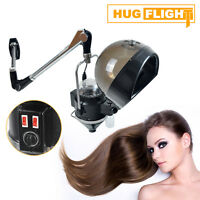 Wall Mount Arm Black Hair Hood Steamer Color Processor Conditioning Moisturize
