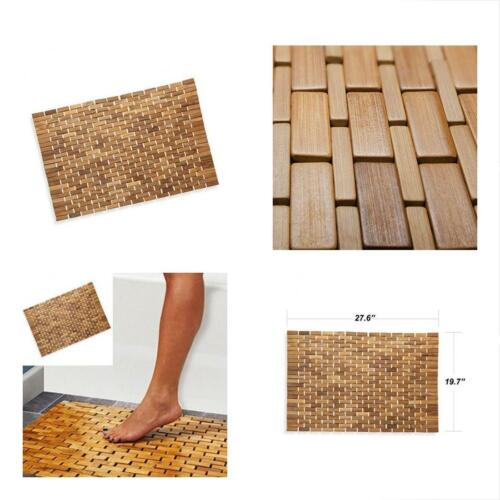 Bath Spa Or Sauna 27x19 Large By Luxurious Bamboo Bath Mat For Shower