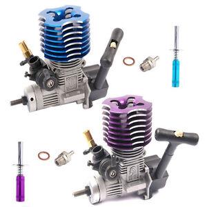 Original-Part-02060-VX18-Vertex-Nitro-Engine-2-74cc-With-Glow-Plug-amp-Lgniter