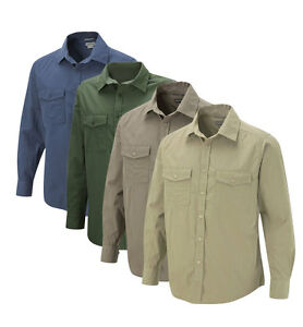 Craghoppers-Kiwi-Long-Sleeve-Shirt-Travel-Quick-Dry-Sun-Protection-Nosi-Defence