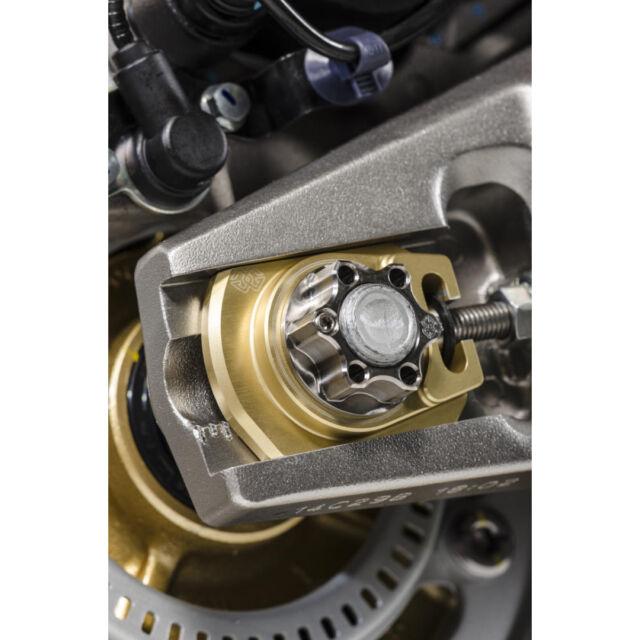ÉCROUS D'AXE ARRIÈRE ACM EN TITANE M24x1.5 Suzuki DL 1000 ABS V-Strom 2014-16