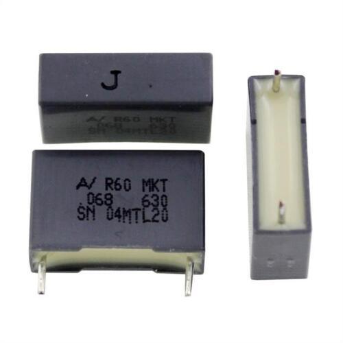 20x marché-condensateur radial 68nf 630v DC; rm15; r60pi2680jb30j; 68000pf